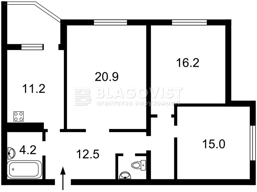 Квартира H-49686, Васильківська, 18, Київ - Фото 5