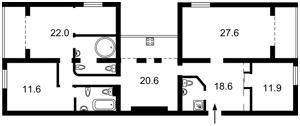 Квартира D-37091, Антоновича (Горького), 122, Киев - Фото 5
