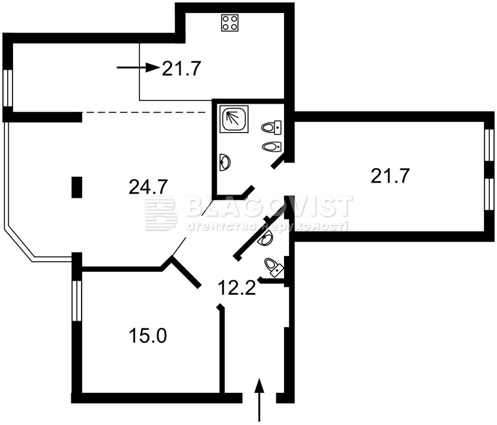 Квартира A-112102, Заньковецкой, 6, Киев - Фото 5
