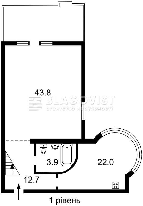 Квартира D-37097, Назаровская (Ветрова Бориса), 11, Киев - Фото 4