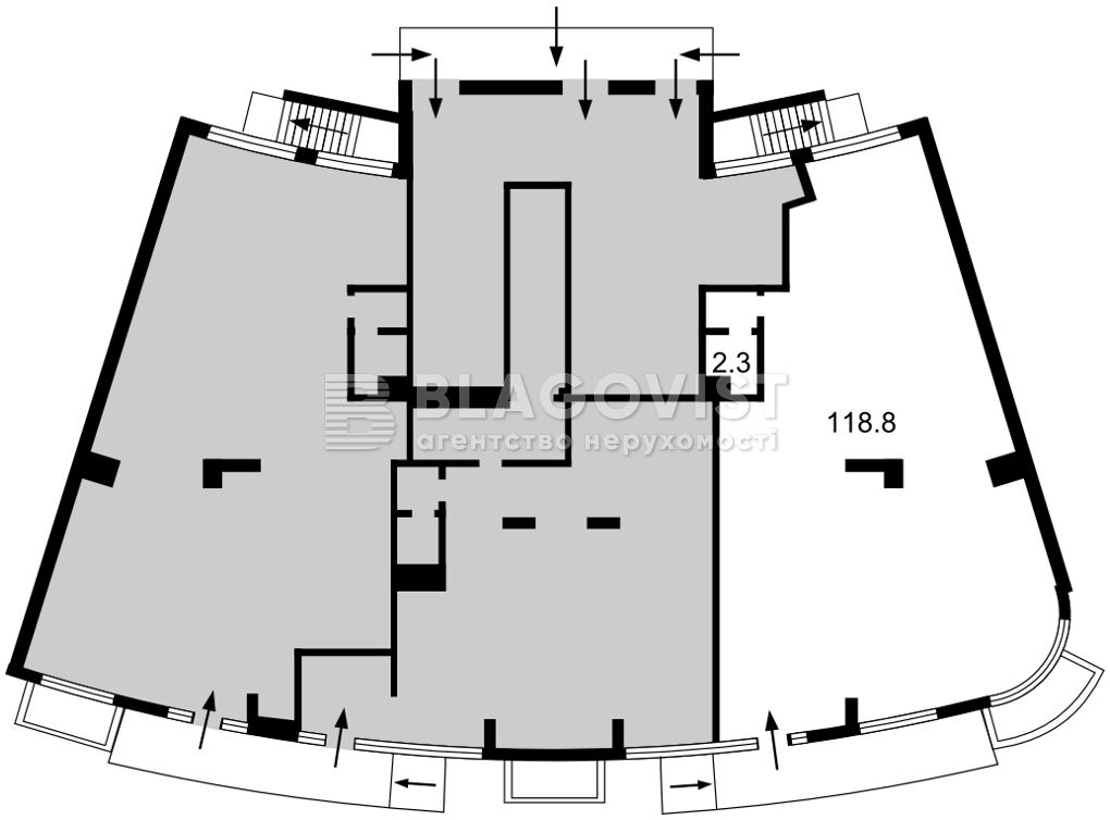 Нежилое помещение, Героев Сталинграда просп., Киев, E-40812 - Фото 2