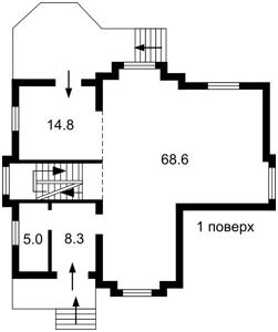 Дом H-49747, Шервудская, Козин (Конча-Заспа) - Фото 5