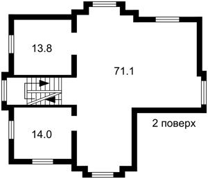 Дом H-49747, Шервудская, Козин (Конча-Заспа) - Фото 6