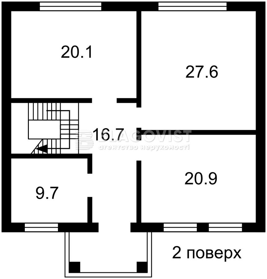 Дом H-49729, Ягодная, Вышгород - Фото 3