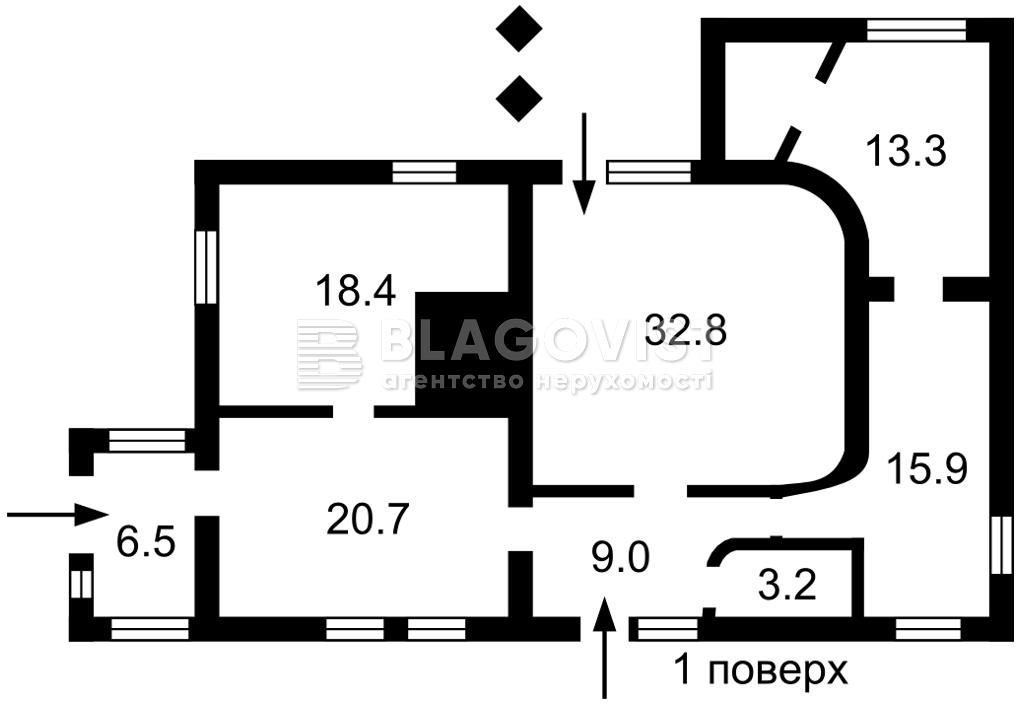 Дом F-44761, Отечественная, Рогозов - Фото 1