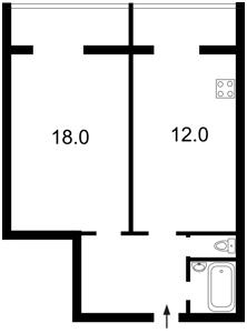 Квартира Ревуцкого, 42б, Киев, Z-1229355 - Фото2