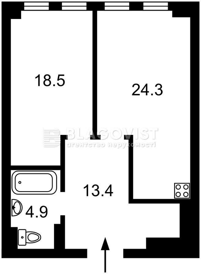 Квартира H-49790, Окипной Раиcы, 18, Киев - Фото 5