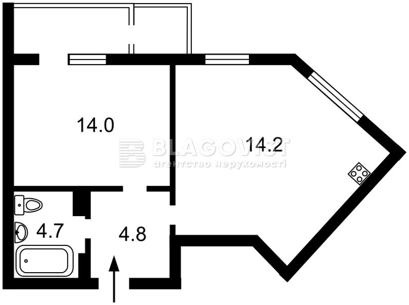Квартира Z-761822, Гречко Маршала, 10б корпус 3, Киев - Фото 2