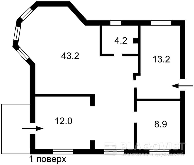Дом P-29534, Ленина, Ржищев - Фото 3
