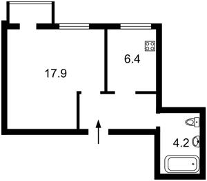 Квартира D-37119, Саксаганского, 57а, Киев - Фото 2