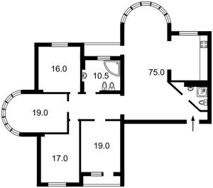 Квартира Дмитриевская, 69, Киев, R-38403 - Фото 2