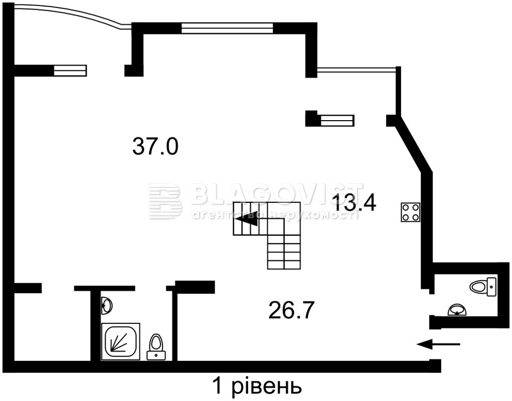 Квартира F-44795, Бажана Николая просп., 1м, Киев - Фото 5