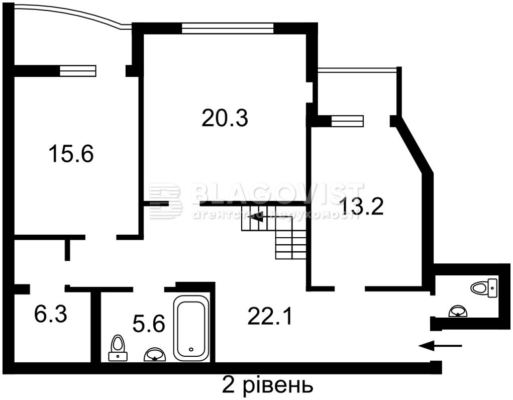 Квартира F-44795, Бажана Николая просп., 1м, Киев - Фото 6
