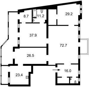Квартира Городецкого Архитектора, 12/3, Киев, Z-779212 - Фото2