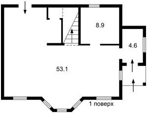 Будинок Боярська, Білогородка, E-40857 - Фото 2