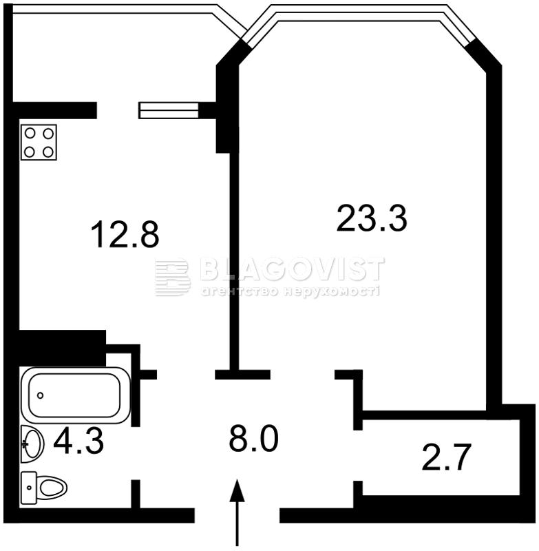 Квартира A-112157, Ахматовой, 35а, Киев - Фото 3
