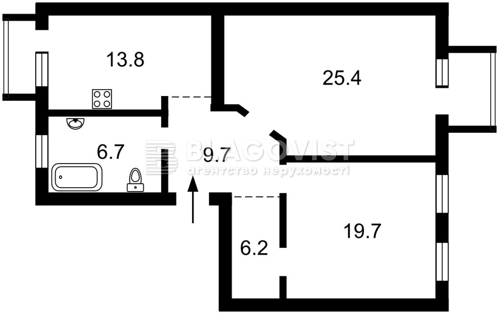 Квартира F-44792, Шелковичная, 32/34, Киев - Фото 5