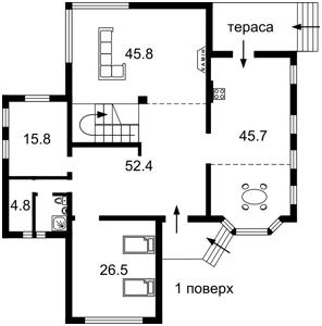Дом A-112178, Лесники (Киево-Святошинский) - Фото 3