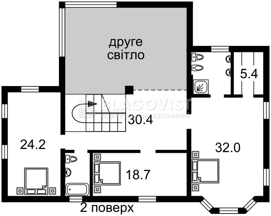 Дом A-112178, Лесники (Киево-Святошинский) - Фото 4