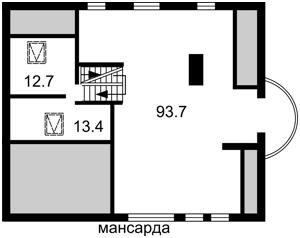 Будинок Старокиївська, Козин (Конча-Заспа), E-40874 - Фото 5