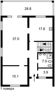 Будинок Озерна, Козин (Конча-Заспа), P-29477 - Фото 2