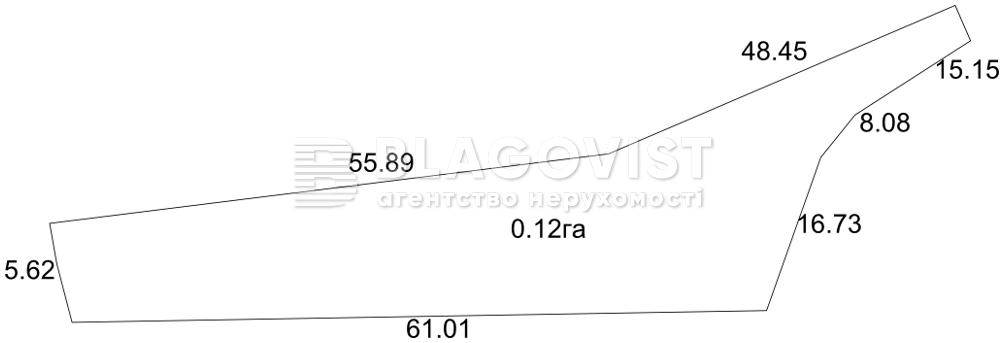 Земельный участок R-25423, Козинская, Лесники (Киево-Святошинский) - Фото 1