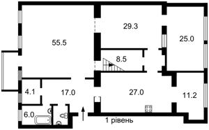 Квартира Городецкого Архитектора, 12/3, Киев, H-49873 - Фото2