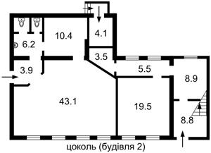 Отдельно стоящее здание, Боричев Ток, Киев, P-16949 - Фото 6