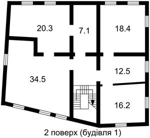 Отдельно стоящее здание, Боричев Ток, Киев, P-16949 - Фото 4