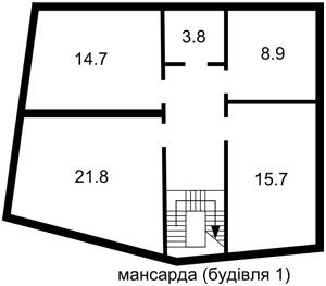 Отдельно стоящее здание, Боричев Ток, Киев, P-16949 - Фото 5