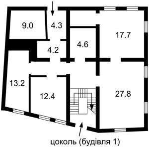 Отдельно стоящее здание, Боричев Ток, Киев, P-16949 - Фото 2