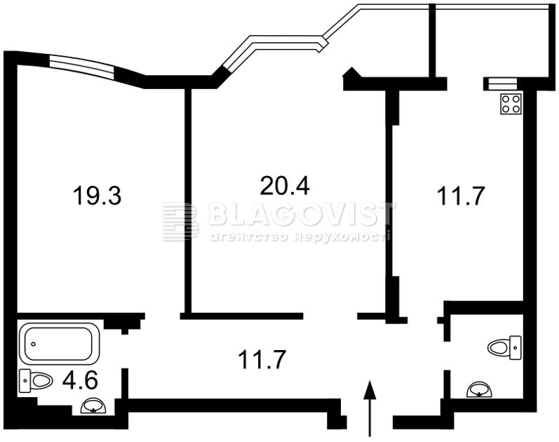 Квартира E-40895, Коперника, 3, Киев - Фото 5
