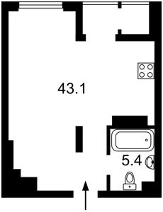 Квартира Болсуновская (Струтинского Сергея), 2, Киев, Z-759346 - Фото2