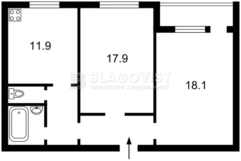 Квартира H-49910, Тимошенко Маршала, 15г, Киев - Фото 5