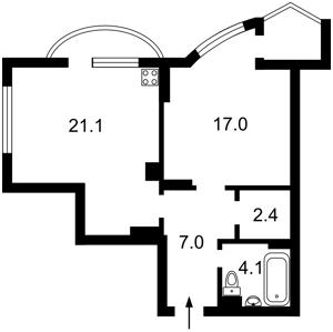 Квартира Урловская, 21б, Киев, Z-767438 - Фото2