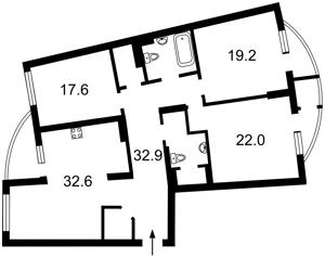 Квартира Дніпровська наб., 23, Київ, R-38630 - Фото2