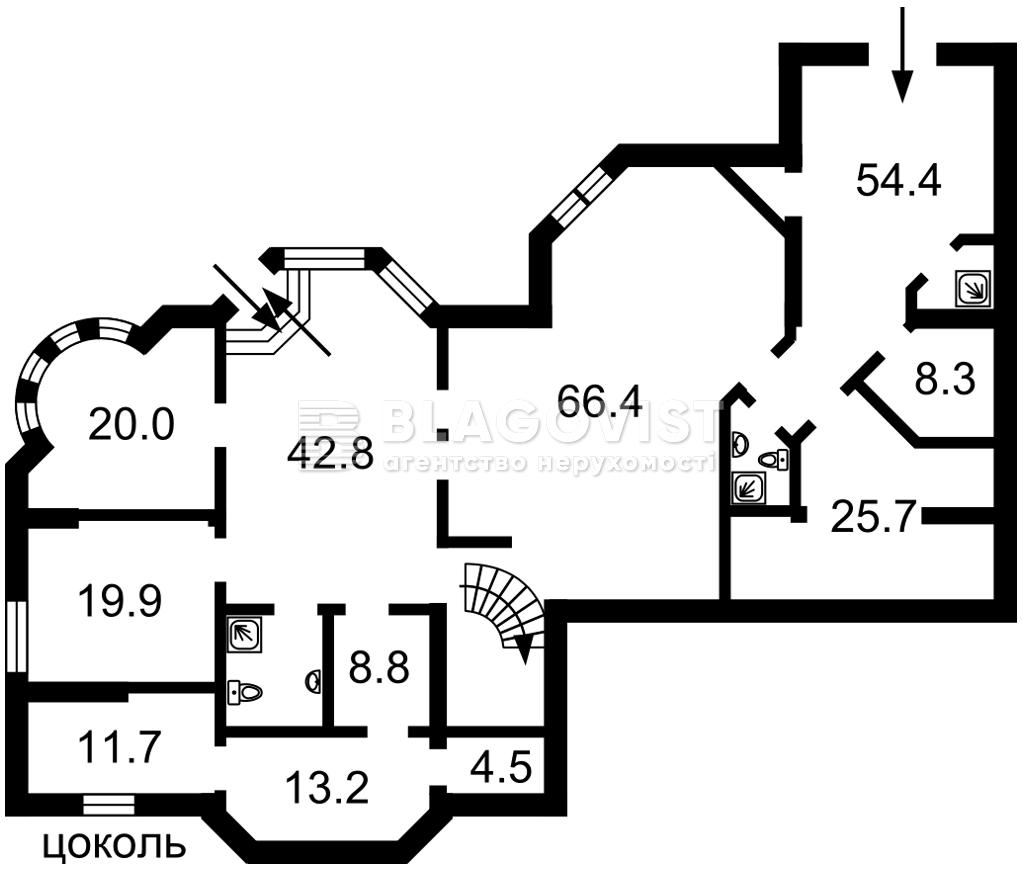 Дом R-38484, Соловьяненко, Козин (Конча-Заспа) - Фото 2