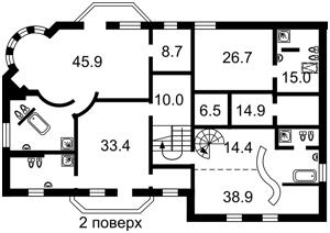 Дом R-38484, Соловьяненко, Козин (Конча-Заспа) - Фото 4