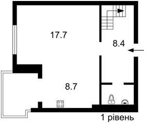 Квартира Лобановского просп. (Краснозвездный просп.), 130, Киев, F-44849 - Фото 2