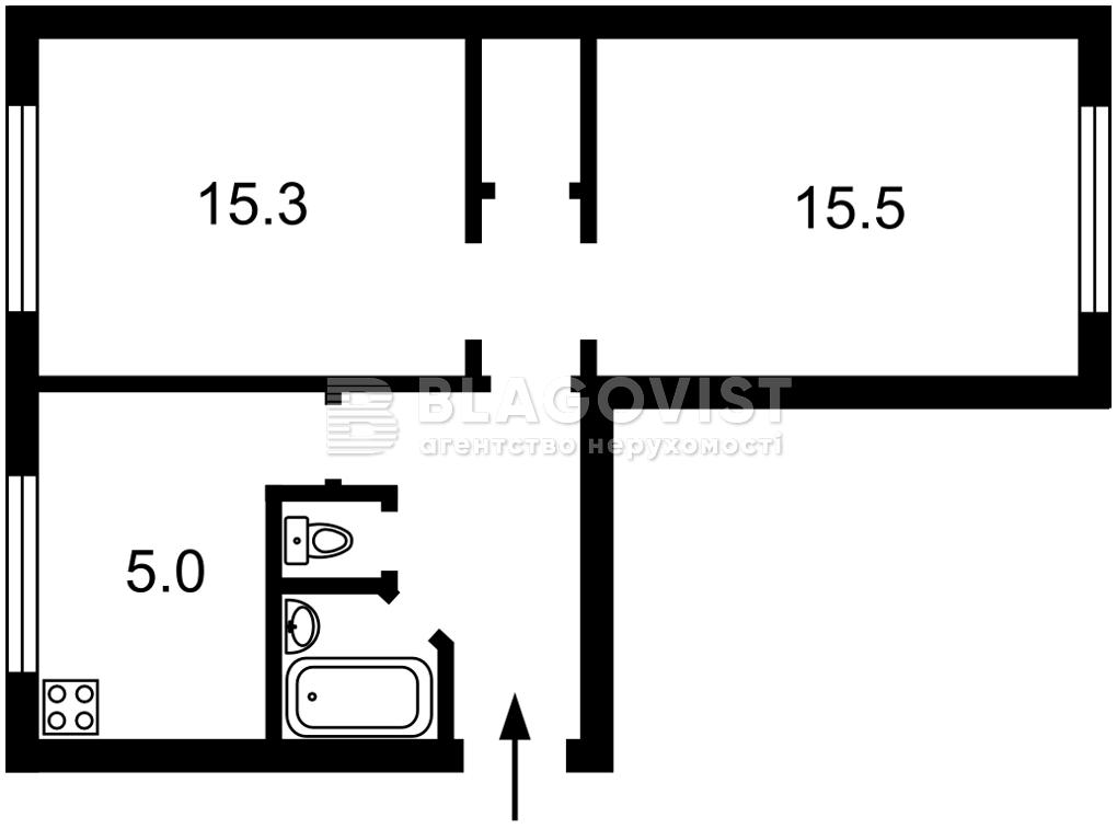 Квартира Z-761292, Вышгородская, 50а, Киев - Фото 3