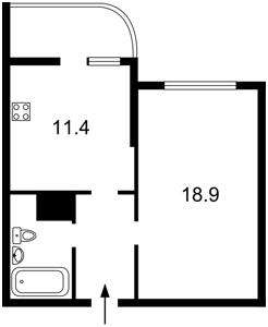 Квартира Лобановского просп. (Краснозвездный просп.), 150, Киев, R-38638 - Фото2