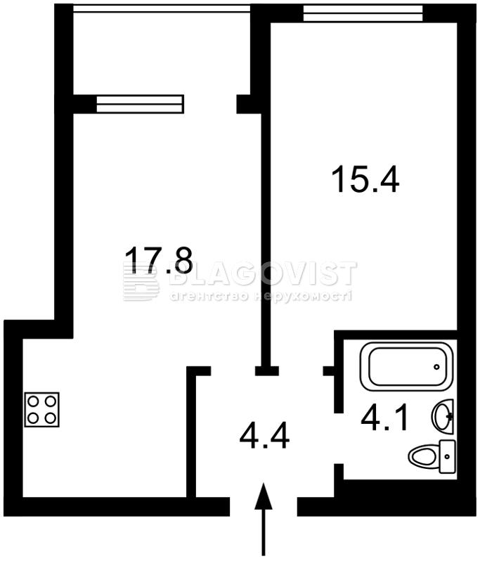 Квартира H-49946, Правды просп., 41д, Киев - Фото 2