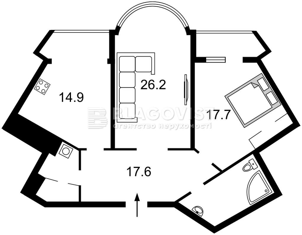 Квартира Z-772004, Срибнокильская, 1, Киев - Фото 7