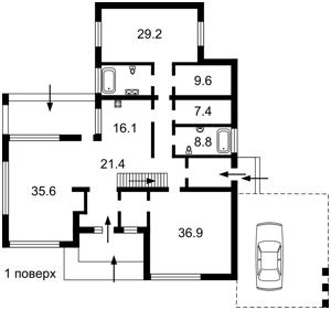 Дом A-112251, Лесники (Киево-Святошинский) - Фото 2