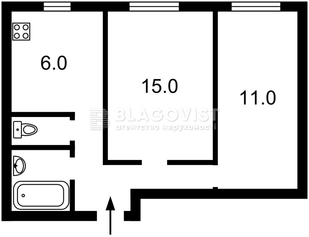Квартира Z-701571, Набережно-Крещатицкая, 7, Киев - Фото 2