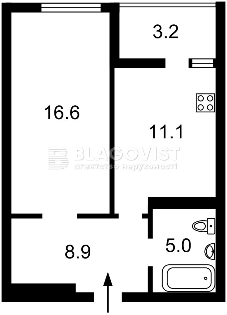 Квартира Z-633337, Победы просп., 109а, Киев - Фото 3