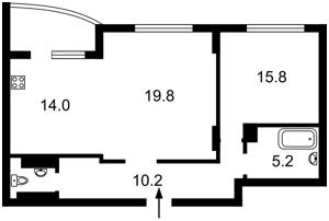 Квартира Панельная, 7, Киев, R-38681 - Фото 2