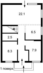 Будинок Святопетрівське / Одеська, Святопетрівське (Петрівське), R-38833 - Фото 1