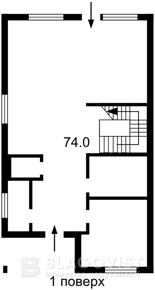 Дом Z-782589, Барвинковая, Гатное - Фото 2