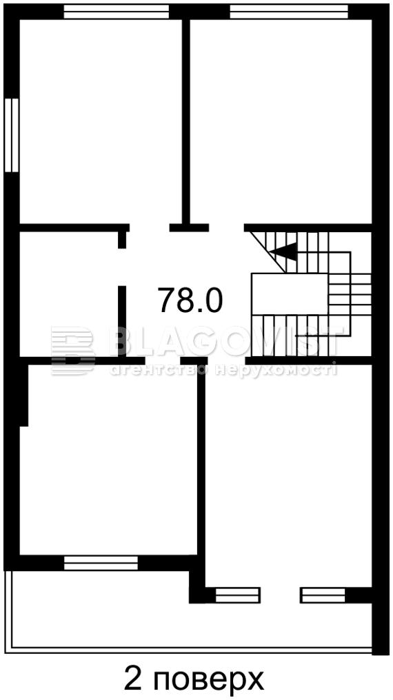 Дом Z-782589, Барвинковая, Гатное - Фото 3